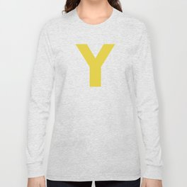 Y is for... Long Sleeve T-shirt