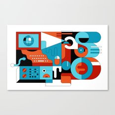 Creative Technologies Canvas Print