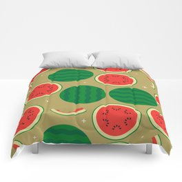 Watermelon Time! Comforters