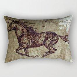 Speed of Thought Rectangular Pillow