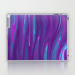 Pink, Purple, and Blue Waves 2 Laptop & iPad Skin