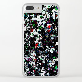 PiXXXLS 123 Clear iPhone Case