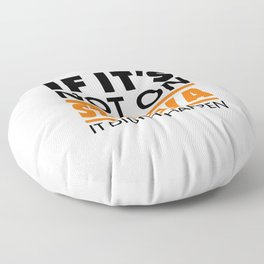If it's not on strava it didn't happen Floor Pillow
