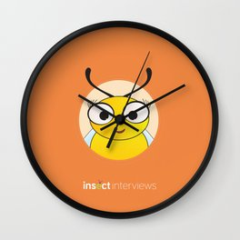 Becky the Bee Wall Clock