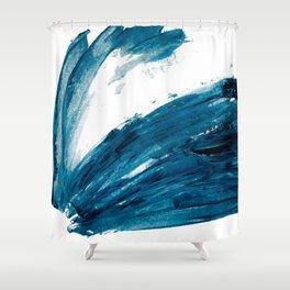 Bunny Blue Shower Curtain
