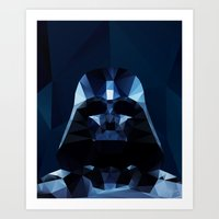 darth Art Prints featuring Darth by Ed Burczyk