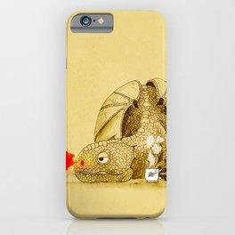 Dragon making Tea iPhone Case