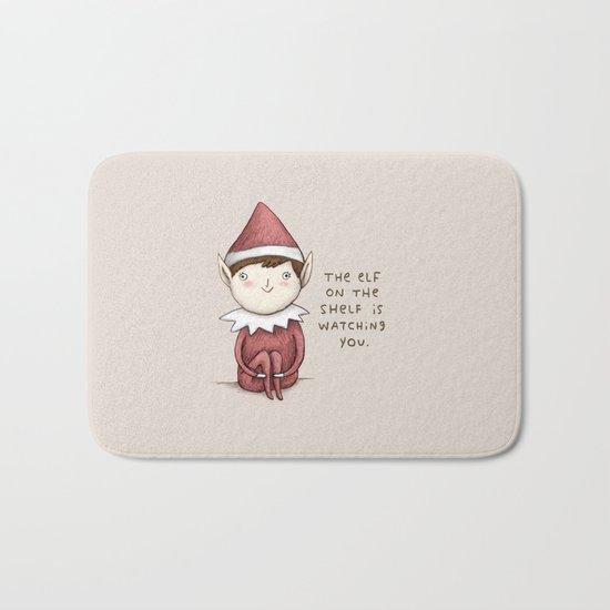 The Elf on The Shelf Bath Mat