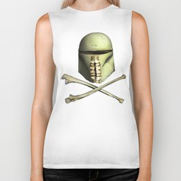 Bounty Hunter Skull Biker Tank