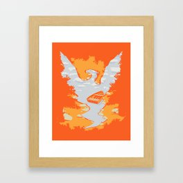 River Phoenix - Autumn Framed Art Print