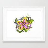 cassandra jean Framed Art Prints featuring Cassandra by Phoebe Jayne