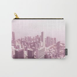 Chicago Pastel Pink Carry-All Pouch