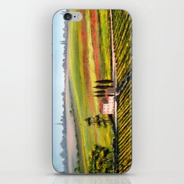 Vineyards In Tuscany Italy iPhone Skin