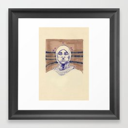 Untitled (Five Hearts) Framed Art Print