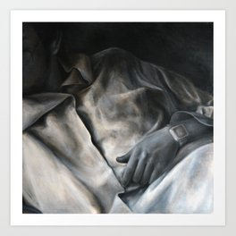 Shirt, 2010, 100-100cm, oil on canvas Art Print