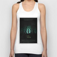 evil dead Tank Tops featuring Evil Dead (2013) Movie Poster by desistfilm