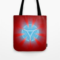 ironman Tote Bags featuring Ironman by Some_Designs