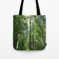 i want to be on the tops of all the trees Tote Bag