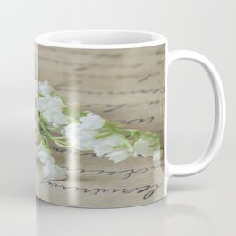 Love letter with lily of the valley Coffee Mug