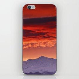 Veleta sunrise iPhone Skin