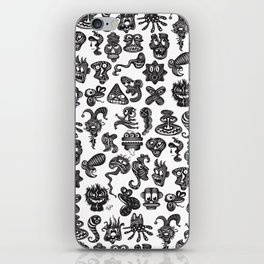 monsterheadz menagerie  iPhone Skin