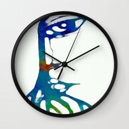 MANGLE LADY Wall Clock