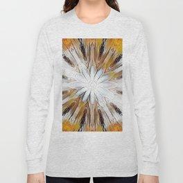 Sunburst Abstract Long Sleeve T-shirt