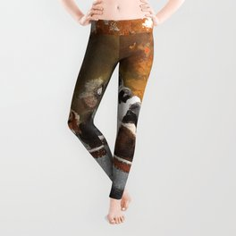 Winslow Homer1 - Hunting Dogs In Boat - Digital Remastered Edition Leggings