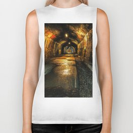 Monsal trail tunnel Biker Tank