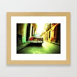 Cuban Car 1 Framed Art Print