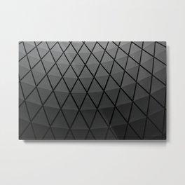 Transit Center Ceiling Metal Print