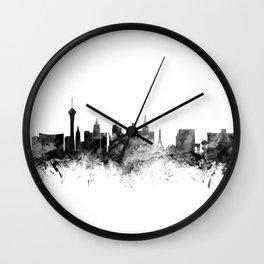 Las Vegas Nevada Skyline Wall Clock