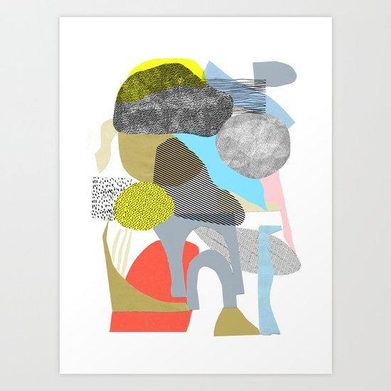 rock city Art Print
