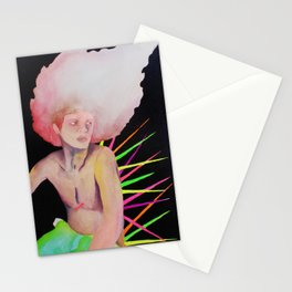 I can resist all criticism, except hers. Stationery Cards