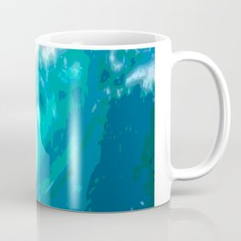 poster paint wave modern home design Coffee Mug