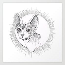 Third Eye Rex Art Print