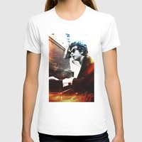 dylan T-shirts featuring Bob Dylan by Maioriz Home