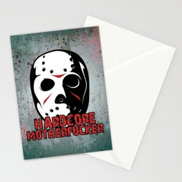 Hardcore Motherf*cker Rave Quote Stationery Cards