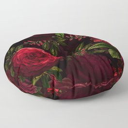 Vintage & Shabby Chic - Vintage & Shabby Chic - Mystical Night Roses Floor Pillow