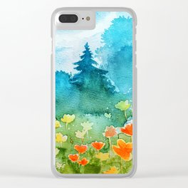 Spring scenery #1 Clear iPhone Case