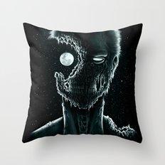 Eye of the Living Dead Throw Pillow