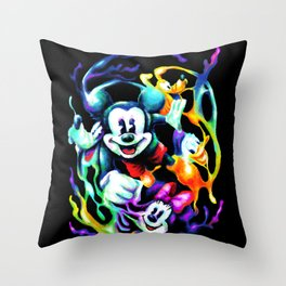 Massive Color Throw Pillow
