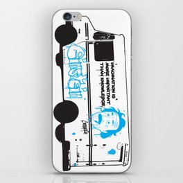 Albert Einstein - Streetwise Seniors iPhone Skin
