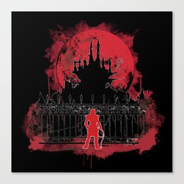 What a Terrible Night to Have a Curse Canvas Print