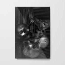 Kostnice Beinhaus CoA Detail Metal Print