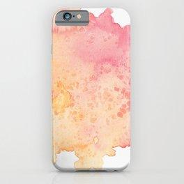 Watercolor art iPhone Case