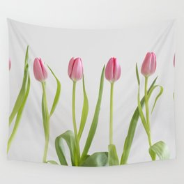 Rose tulips Wall Tapestry