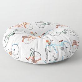 i want to ride my bicycle Floor Pillow