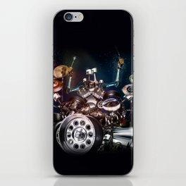 Drum Machine - The Band's Engine iPhone Skin