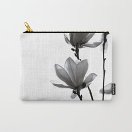 BLACK MAGNOLIA Carry-All Pouch